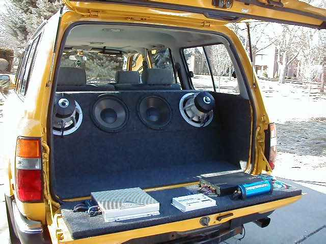 My Custom Car Audio/Video Installation