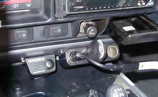 Installation of the Epicenter Control, 4-Way Cigarette Lighter, Sony Playstation, and Emerson DVD Player Switches