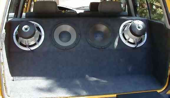 Installation of the Subwoofers and Box